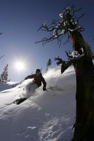 Image: A skier in Aspen, Colo.