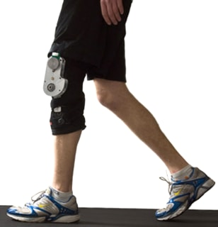 Image: Energy-capturing knee brace