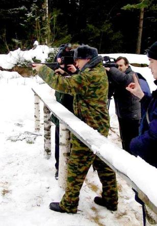 Image: Mark Shuttleworth target practice
