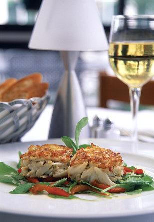 Image: crab cake