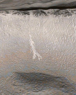 Image: Mars gully activity