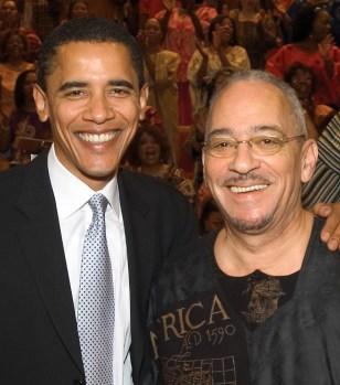Image: Barack Obama, Jeremiah Wright