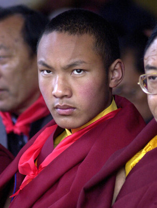 Image: Ugyen Trinley Dorje, the 17th Karmapa Lama