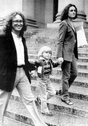 Image: Bill Ayers and family