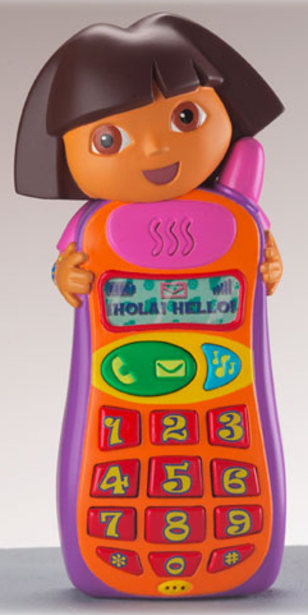 Image: Dora the Explorer cell phone