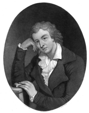 Image: Illustration of poet Friedrich Schiller