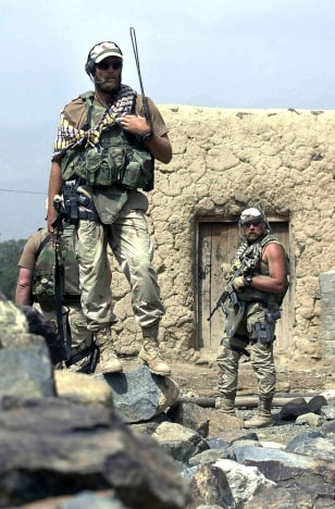 Image: U.S. Army Special Forces troops in Afghanistan