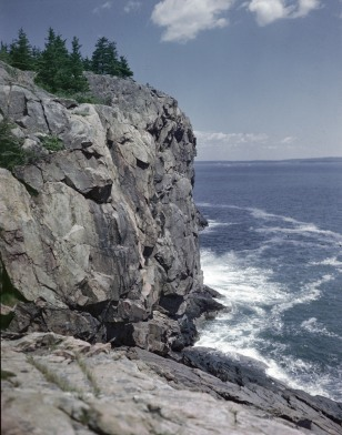 Image: Great Head Cliff At Acadia National Park, Maine