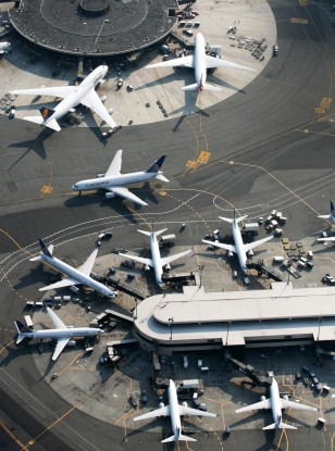Image: Newark airport