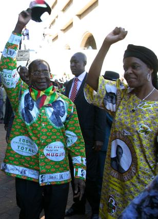 Image: Mugabe