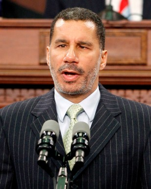 Image: David Paterson sworn in as 55th Governor of New York