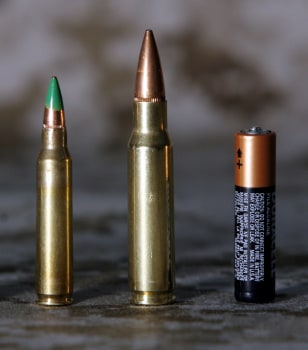 IMAGE: Bullets and battery