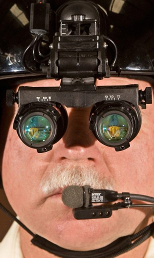 Image: Night vision goggles