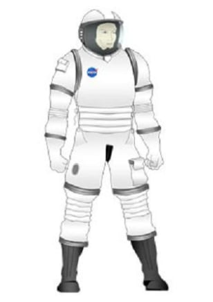 Image: Configuration One spacesuit