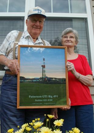 Image: Oil millionaires Oscar andLorene Stohler