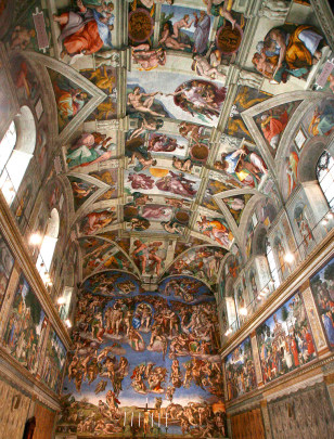 Image: Sistine Chapel at the Vatican