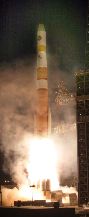 Image: Launch of satellite