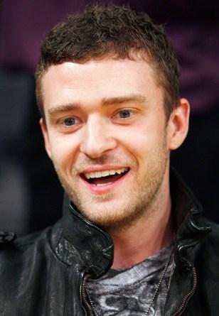 Image: Singer Justin Timberlake