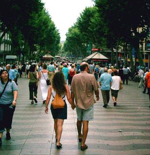 Image: Las Ramblas, Barcelona