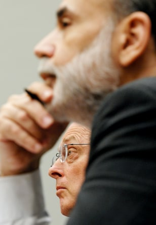 Image: Henry Paulson and Ben Bernanke