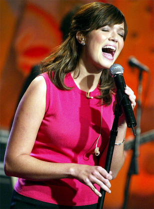 Mandy Moore Appears on The Tonight Show with Jay Leno