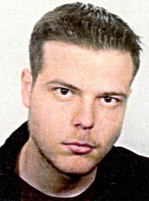 FILE PHOTO OF MIJAILO MIJAILOVIC WHO HAS CONFESSED TO ANNA LINDH MURDER