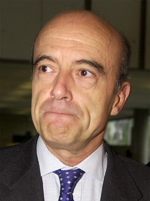 IMAGE: FORMER FRENCH PM JUPPE
