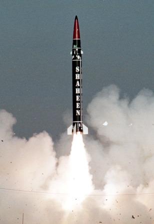 FILE PHOTO OF PAKISTAN'S BALLISTIC MISSILE SHAHEEN-1