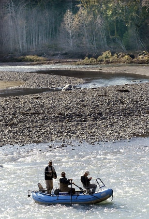 STEELHEAD FISHING ON HOH RIVER