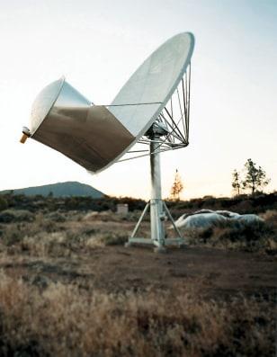 Image: Prototype radio dish
