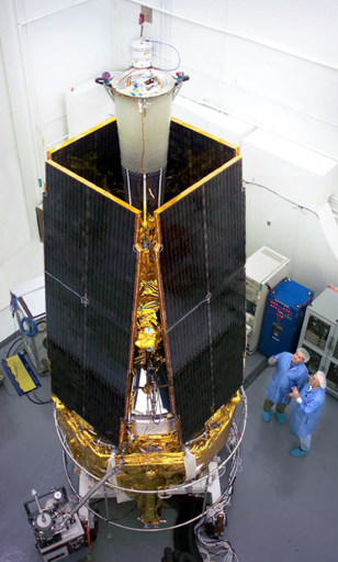 Image: Gravity Probe B