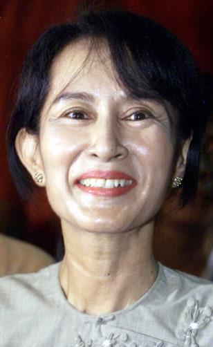 Image: Myanmar democracy icon Aung San Suu Kyi