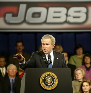 U.S. PRESIDENT GEORGE W BUSH REMARKS ON JOBS AND THE ECONOMY IN CHARLOTTE