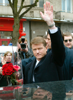 IMAGE: OUSTED LITHUANIAN PRESIDENT PAKSAS