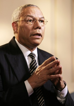 IMAGE: Secretary of State Colin Powell