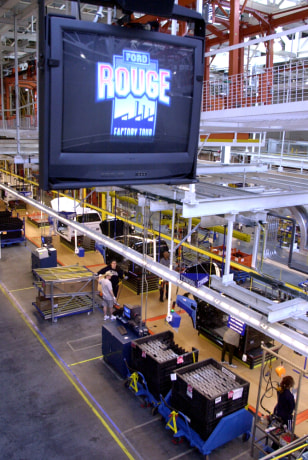 FORD ROUGE FACTORY