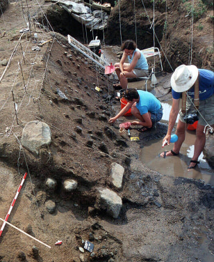 Image: Excavation site