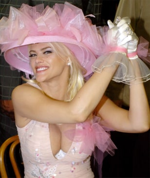 IMAGE: Anna Nicole Smith at Derby