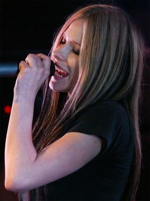IMAGE: Avril Lavigne
