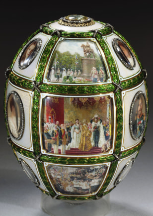 FABERGE EGGS TO BE AUCTIONED BY SOTHEBYS