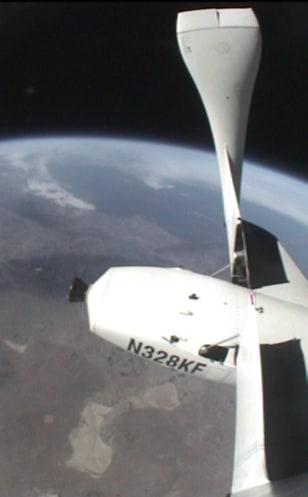 Image: SpaceShipOne view