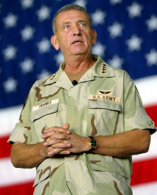Image: Retired U.S. Army Gen. Tommy Franks