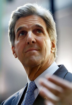 John Kerry Addresses Rally With Wisconsin Veterans And Families
