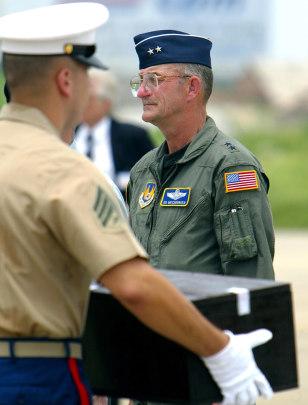 Image: U.S. Air Force Reserve Maj. Gen. Edward J. Mechenbier