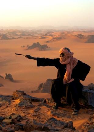 LIBYAN DESERT VIEW