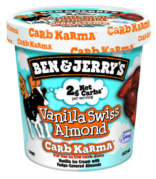 BEN JERRY'S LAUNCHES A NEW LINE OF LOW-CARB ICE CREAM
