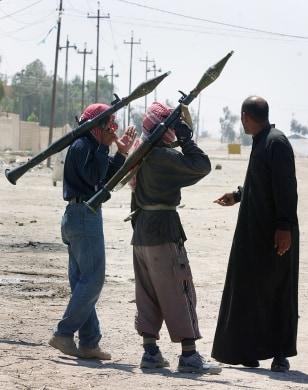 Image: Sunni insurgents