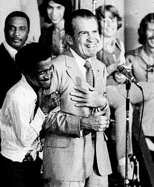 SAMMY DAVIS RICHARD NIXON