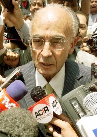 IMAGE: Former Mexican President Luis Echeverria