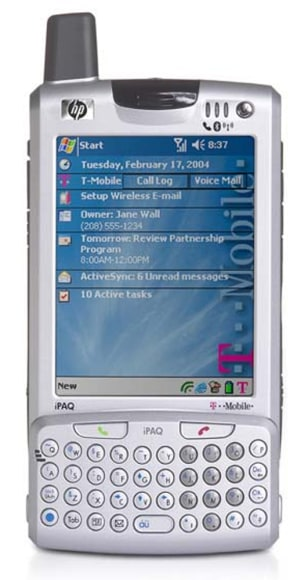 Hewlett-Packard's new iPAQh6315